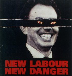 1990s UK The Conservative Party Poster